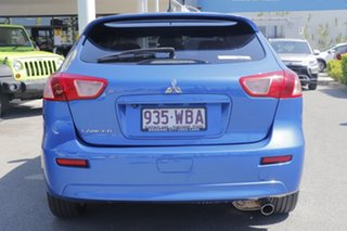 2015 Mitsubishi Lancer CJ MY15 GSR Sportback Lightning Blue 5 Speed Manual Hatchback