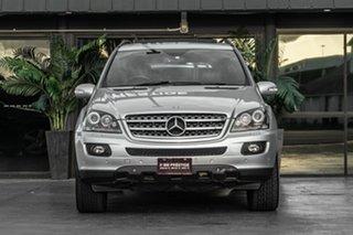 2008 Mercedes-Benz M-Class W164 MY08 ML350 Silver 7 Speed Sports Automatic Wagon.