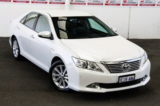 2013 Toyota Aurion GSV50R Prodigy Pearl White 6 Speed Automatic Sedan.