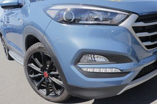 2016 Hyundai Tucson TL MY17 30 D-CT AWD Special Edition Ash Blue 7 Speed.