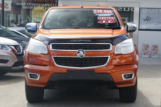 2014 Holden Colorado RG MY14 LTZ Crew Cab Orange 6 Speed Sports Automatic Utility