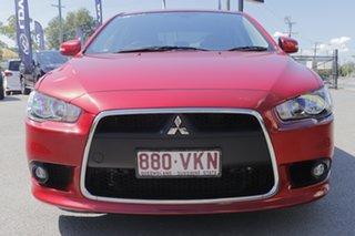 2014 Mitsubishi Lancer CJ MY15 GSR Sportback Plum 6 Speed Constant Variable Hatchback