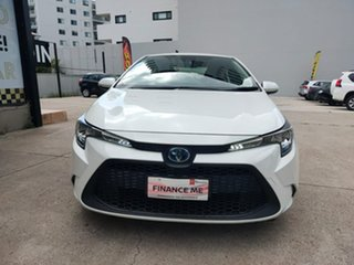 2019 Toyota Corolla Ascent Sport - Hybrid White Constant Variable Sedan.