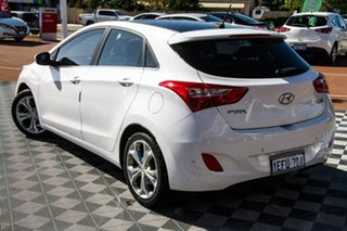 2013 Hyundai i30 GD Premium White 6 Speed Sports Automatic Hatchback.