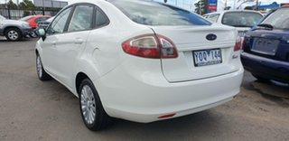 2010 Ford Fiesta WT CL White 5 Speed Manual Sedan