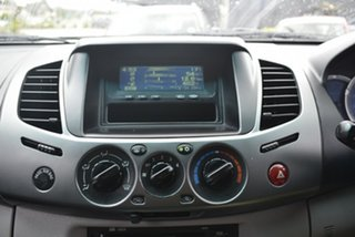 2009 Mitsubishi Triton ML MY09 GLX-R Double Cab Grey 4 Speed Automatic Utility