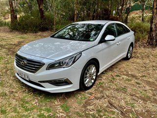 2015 Hyundai Sonata LF Active Ice White 6 Speed Sports Automatic Sedan