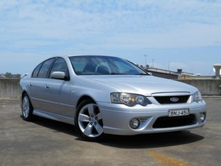 2006 Ford Falcon BF Mk II XR6 Silver 4 Speed Sports Automatic Sedan