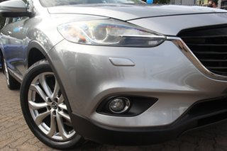 2012 Mazda CX-9 MY13 Luxury Silver 6 Speed Auto Activematic Wagon.