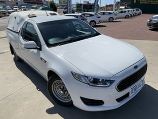 2015 Ford Falcon FG X White 6 Speed Auto Seq Sportshift Utility.