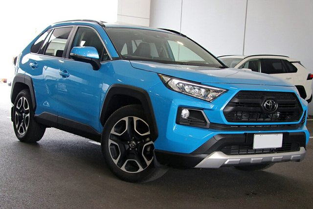 Pre-Owned Toyota RAV4 Axaa54R Edge AWD South Morang, 2020 Toyota RAV4 Axaa54R Edge AWD Eclectic Blue 8 Speed Sports Automatic Wagon