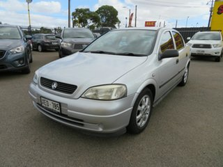 2004 Holden Astra TS Equipe Silver 4 Speed Automatic Hatchback.