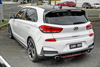 2018 Hyundai i30 PDe.3 MY19 N Fastback Performance White 6 Speed Manual Coupe.