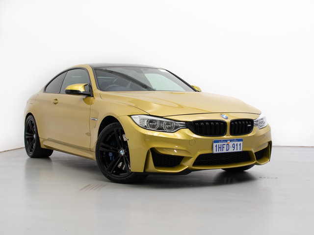 Used BMW M4 F82 , 2014 BMW M4 F82 Gold 7 Speed Auto Dual Clutch Coupe