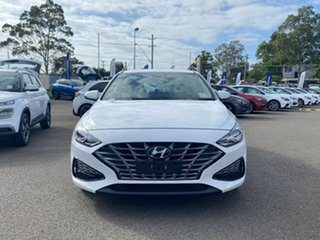 2020 Hyundai i30 PD.V4 MY21 Elite Polar White 6 Speed Automatic Hatchback