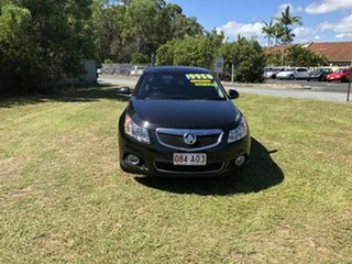 2014 Holden Cruze JH Series II MY14 Z Series Black 5 Speed Manual Sedan.