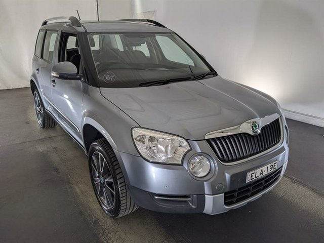Used Skoda Yeti 5L 112TSI DSG Maryville, 2012 Skoda Yeti 5L 112TSI DSG Grey 6 Speed Sports Automatic Dual Clutch Wagon
