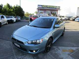 2007 Mitsubishi Lancer CJ VR Blue 6 Speed CVT Auto Sequential Sedan.