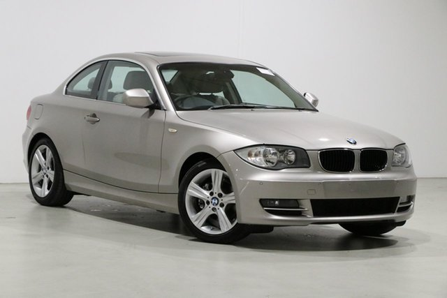 Used BMW 125i E82 MY09 Bentley, 2010 BMW 125i E82 MY09 Champagne 6 Speed Automatic Coupe