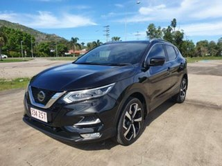 2018 Nissan Qashqai J11 Series 2 Ti X-tronic Black 1 Speed Constant Variable Wagon