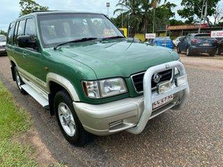2000 Holden Jackaroo U8 MY00 SE Green 5 Speed Manual Wagon.