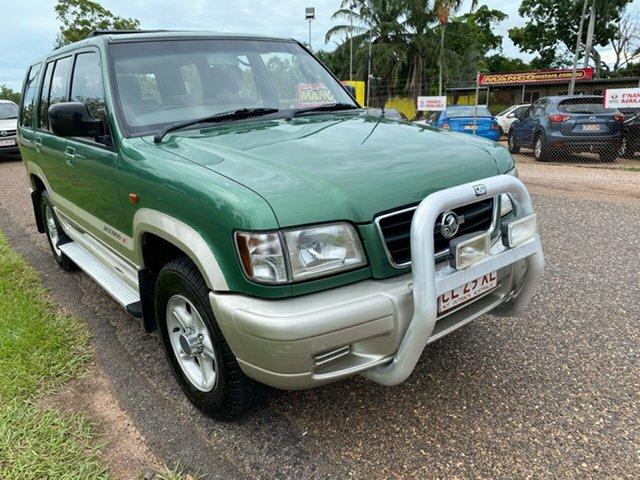 Used Holden Jackaroo U8 MY00 SE Pinelands, 2000 Holden Jackaroo U8 MY00 SE Green 5 Speed Manual Wagon