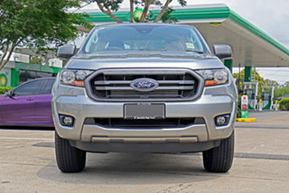 2020 Ford Ranger PX MkIII 2020.75MY XLS Silver 6 Speed Sports Automatic Double Cab Pick Up.
