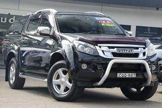 2014 Isuzu D-MAX MY14 LS-Terrain Crew Cab Black 5 Speed Sports Automatic Utility.
