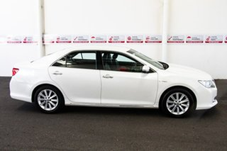 2013 Toyota Aurion GSV50R Prodigy Pearl White 6 Speed Automatic Sedan
