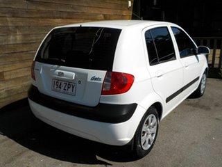2008 Hyundai Getz TB MY07 SX White 4 Speed Automatic Hatchback.