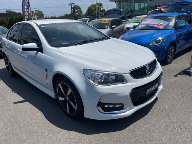 Used Holden Commodore VF II MY17 SV6 Cardiff, 2017 Holden Commodore VF II MY17 SV6 White 6 Speed Sports Automatic Sedan