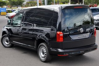 2020 Volkswagen Caddy 2KN MY20 TSI220 Maxi DSG Black 7 Speed Sports Automatic Dual Clutch Van.