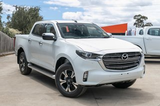 2020 Mazda BT-50 TFS40J GT Ice White 6 Speed Sports Automatic Utility.