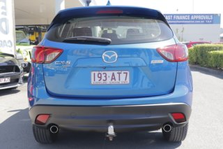 2013 Mazda CX-5 KE1021 MY13 Maxx SKYACTIV-Drive AWD Sport Sky Blue 6 Speed Sports Automatic Wagon