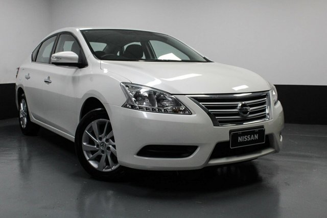 Used Nissan Pulsar B17 Series 2 ST Cardiff, 2016 Nissan Pulsar B17 Series 2 ST Ivory Pearl 1 Speed Constant Variable Sedan