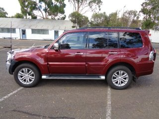 2017 Mitsubishi Pajero NX MY17 GLS Red 5 Speed Sports Automatic Wagon