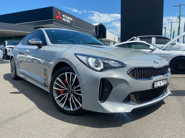 Used Kia Stinger CK MY18 330Si Fastback Cardiff, 2017 Kia Stinger CK MY18 330Si Fastback Grey 8 Speed Sports Automatic Sedan