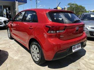 2019 Kia Rio YB MY20 S Red 4 Speed Sports Automatic Hatchback.