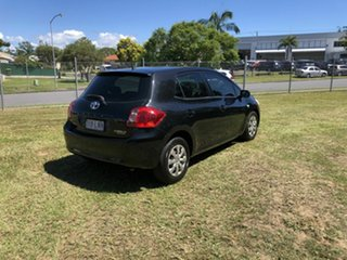 2008 Toyota Corolla ZRE152R Ascent Black 4 Speed Automatic Hatchback