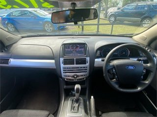 2012 Ford Falcon FG MkII XR6 Blue 6 Speed Sports Automatic Cab Chassis