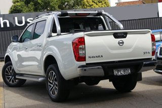 2017 Nissan Navara D23 S3 ST-X White 7 Speed Sports Automatic Utility.