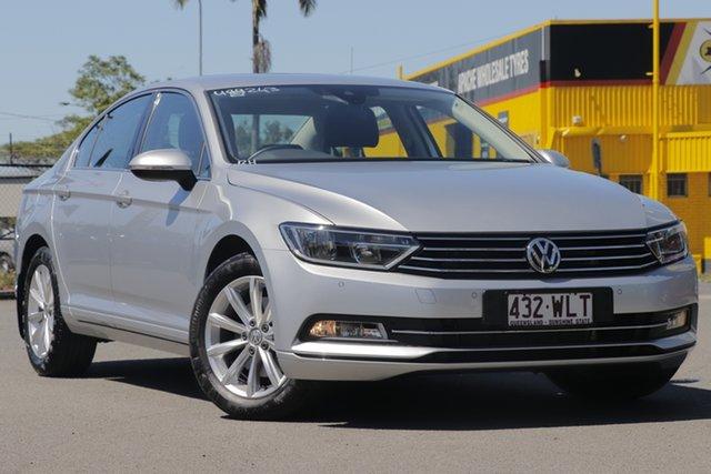 Used Volkswagen Passat 3C (B8) MY16 132TSI DSG Comfortline Rocklea, 2016 Volkswagen Passat 3C (B8) MY16 132TSI DSG Comfortline Reflex Silver 7 Speed