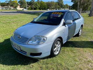 2004 Toyota Corolla ZZE122R 5Y Ascent Blue 4 Speed Automatic Sedan