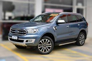 2019 Ford Everest UA II 2019.75MY Titanium Blue 10 Speed Sports Automatic SUV.