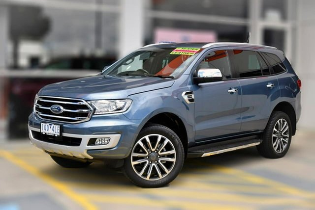 Used Ford Everest UA II 2019.75MY Titanium Berwick, 2019 Ford Everest UA II 2019.75MY Titanium Blue 10 Speed Sports Automatic SUV