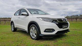 2020 Honda HR-V MY21 VTi-S Platinum White 1 Speed Automatic Hatchback.