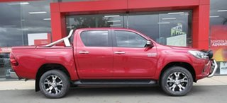 2015 Toyota Hilux GUN126R SR5 Double Cab Red 6 Speed Sports Automatic Utility.