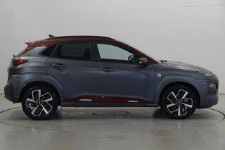 2019 Hyundai Kona OS.2 MY19 Iron Man Edition D-CT AWD Grey 7 Speed Sports Automatic Dual Clutch