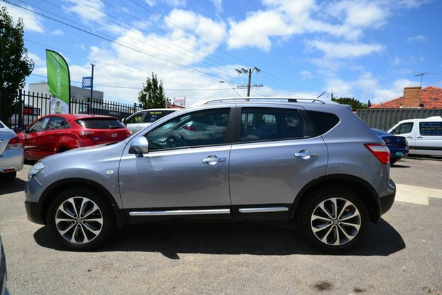 Used Nissan Dualis J10 Series II TI (4x4) Blair Athol, 2011 Nissan Dualis J10 Series II TI (4x4) Silver 6 Speed Manual Wagon