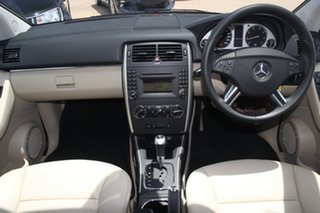 2011 Mercedes-Benz B200 245 MY11 White Continuous Variable Hatchback